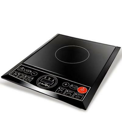 5 Star Chef Portable Single Ceramic Electric Induction Cook Top - Black