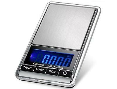 TBBSC Smart Weigh Scale High Precision Digital Jewelry Pocket Scale 300g/0.01g