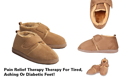 Diabetic Comfort Slippers For Men and Women. Great for Indoors and Outdoors