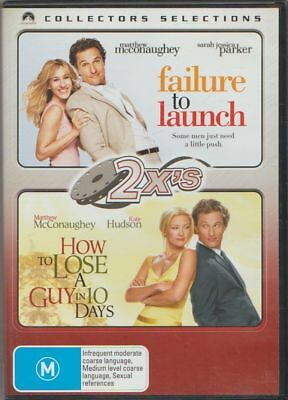 D.v.d Movie  Db769  Failure To Launch / How To Lose A Guy In10 Days  2 Disc Set