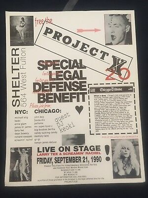 Michael Alig Club Kid Party Monster James St James Shelter Nightclub Chicago