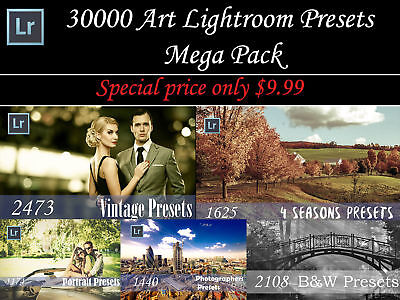 30000 Art Lightroom presets Mega Pack for PC and Mac (Fast Email Deivery)
