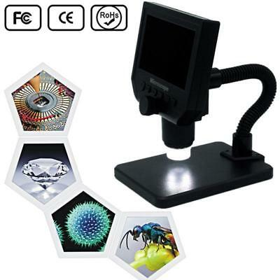 "Microscopio digitale elettronico 4.3"" LCD da 3,6 MP 1~600X G600 1080P HD 8 LEDs"