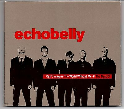 I Can't Imagine The World Without Me - The Best Of Echobelly Digipak CD