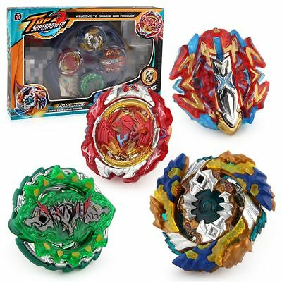 4PCS/set Beyblade Burst Starter XD168-11 Beyblade Metal Fusion Toy With Launcher