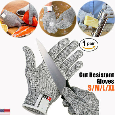 Stainless Steel Safety Cut Proof Resistant Stab Wire Metal Mesh Butcher Gloves