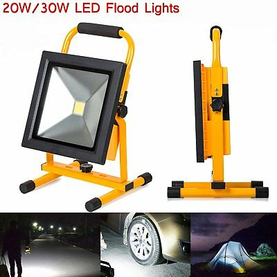 20W/30W Rechargeable Floodlight Security Camping Outdoor LED Work Light