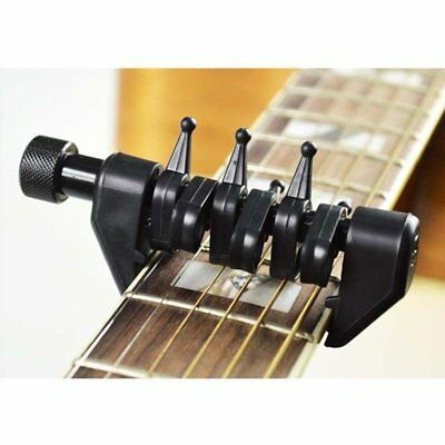 Black Multifunction Capo Open Tuning Spider Chords for Acoustic Guitar Strings