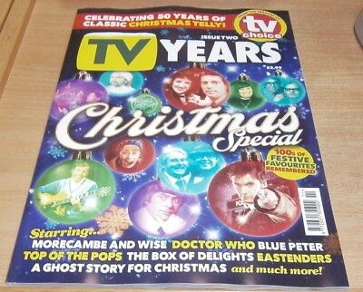 TV Years magazine Issue #2 2018 Christmas TV Special Dr Who Blue Peter TOTP