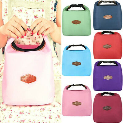 SP 1PC New Fashion Camping Insulation Bag Thermal Lunch Bag Hot Sale 14x12x22cm