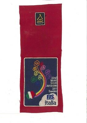 World Scout Jamboree 2011 - Italian contingent backpack patch