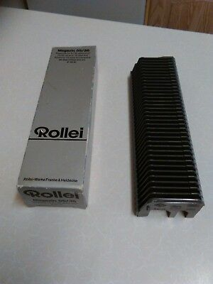 "Vintage Rollei Magazin 55 Slide Tray for 2"" x 2"" Slides - 36 Slides (1451)"