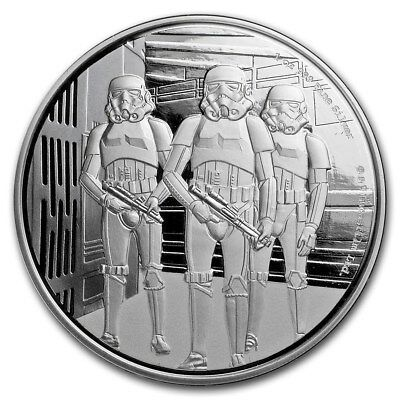 Niue -2019 - Silver $2 Proof Coin- Star Wars Classic: 1 OZ  Stormtrooper