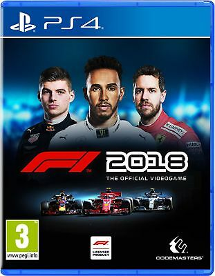 F1 2018 Standard Edition (PS4) IN STOCK NOW New & Sealed UK PAL