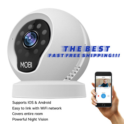 Video Baby Monitor for home, MobiCam Wifi Camera, Home Baby Camera Monitor