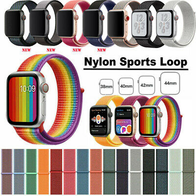 Nylon Armband Loop Uhrenarmband Für Apple Watch Series 4/3/2/1 38/42mm 40/44mm