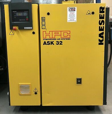 HPC / Kaeser ASK32 Rotary Screw Compressor, 18.5kW! 111Cfm! Perfect Order!