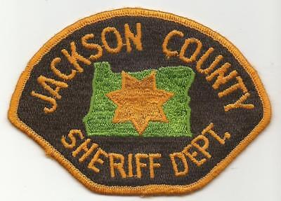 Jackson County OREGON OR Police Sheriff patch OLD