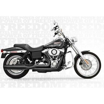 Echappement Freedom Performance Union Noir Dyna 06-17