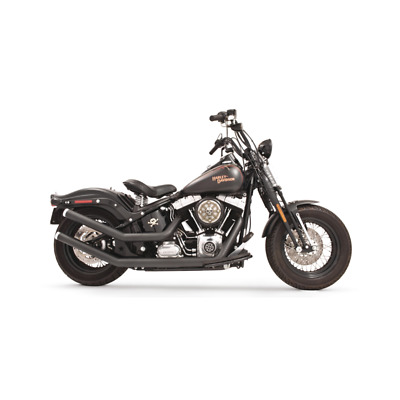 Echappement Freedom Performance Upsweep Star noir Softail 86-17