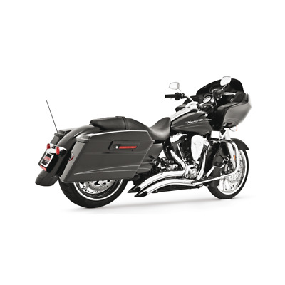 Echappement Freedom Performance Sharp curve radius Chromé Tourer 95-16