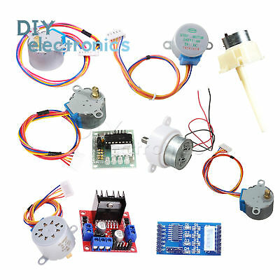 DC 5-12V Stepper Motor 28BYJ-48+2003/L298 Driver Test Module fit for Arduino US