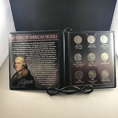 First Commemorative Mint Inc. 100 Years of American Nickels
