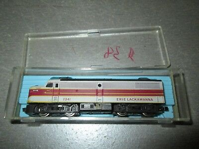 N Scale Trains Atlas Erie Lackawanna #7341 Working