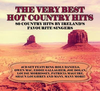 The Very Best of Hot Country Hits 4CD Set Featuring Ireland's Favourite Singers!