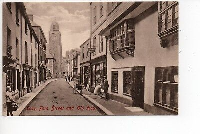 Fore Street and Old House, Looe, Cornwall