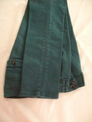 Levi's Mid Rise Skinny Jean Size 4 Teal