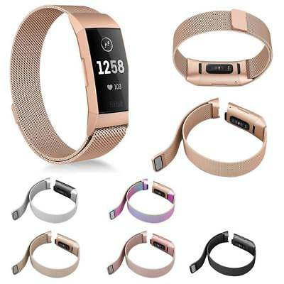 Luxury Replacement Watch Strap Wristband Bracelet For Fitbit Charge 2/Charge 3