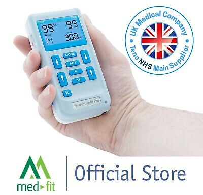 Med-Fit Rechargeable Dual Channel (EV804R) Combined TENS & Muscle Stimulator