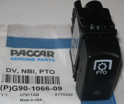 ~New Oem Paccar Kenworth Pto Air / Electric Valve Control Switch  ~~ G90-1066-09