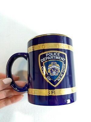NYPD New York Police Department Blue Coffee Mug