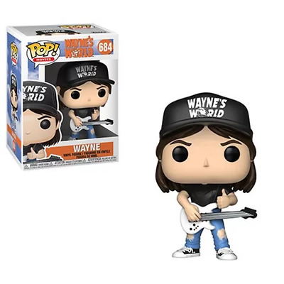Funko Pop! Movies: Wayne's World Wayne #684   NIB cZ