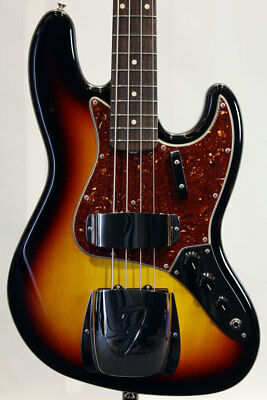 Fender CS: Electric Bass Custom Build 1962 Jazz Bass NOS 3TSB NEW
