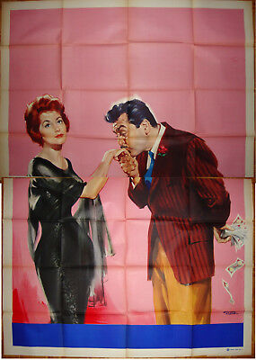 Five Golden Hours-Cyd Charisse-Ernie Kovacs-No title or credits-IT 4sh (55x78)