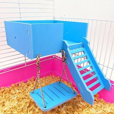 Small Animal Hamster House Swing Play Props Swing Entertainment Swing Toy ONE