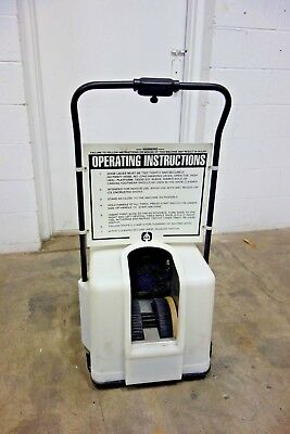 Liberty Industries 2001 TB Clean Room Shoe Cleaner Brush Cleaning Machine