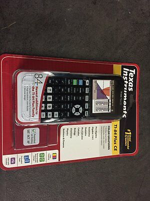 NEW Texas Instruments TI-84 Plus CE Graphing Calculator Black