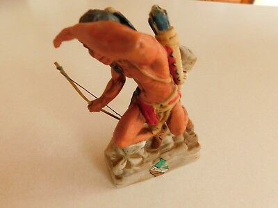 Ski Country Bourbon decanter LOOK OUT INDIAN 1978