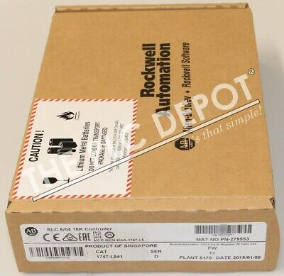 ~2018~ SEALED! Allen Bradley 1747-L541 /D SLC 5/04 CPU *FAST SHIPPING!*