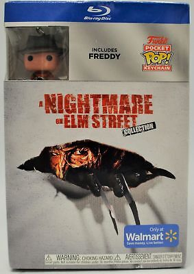 A Nightmare on Elm Street Complete Collection Blu-Ray Freddy POP Keychain Funko