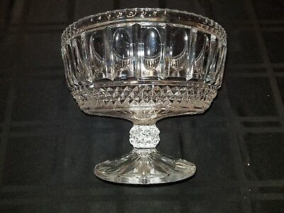 Cedar Point Collectible Glass Pedestal Bowl Circa 1937