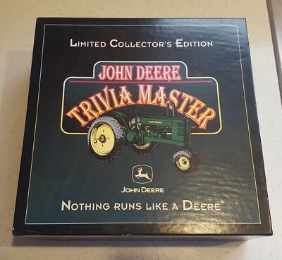 John Deere Limited Collector's Edition John Deere Trivia Master 1 of Only 5000