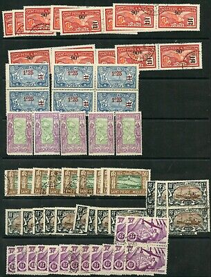 Weeda St. Pierre Miquelon #126/359, Q4 Used/MH Wholesale collection CV $1523.40