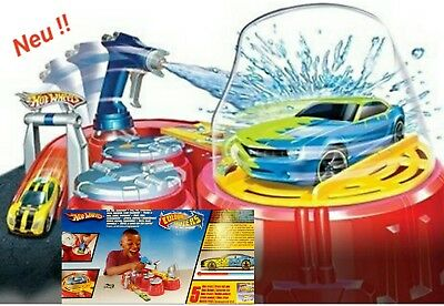 HOT WHEELS COLOUR SHIFTERS COLOUR SHOT PLAY SET Farbwechsel-Labor Autospielesets