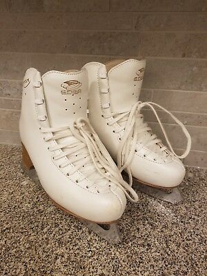Edea Overture Girls Ice Skates Size 3 (240) Boxed with Skate Guards and Soakers
