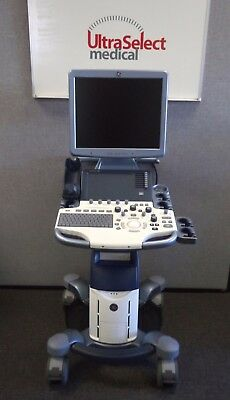 GE Logiq S-8 Color  (r2 Revision)  Ultrasound System with Cardiac